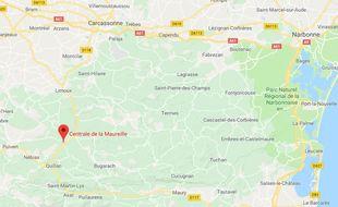 La centrale de la Maureille, dans l'Aude (Occitanie)
