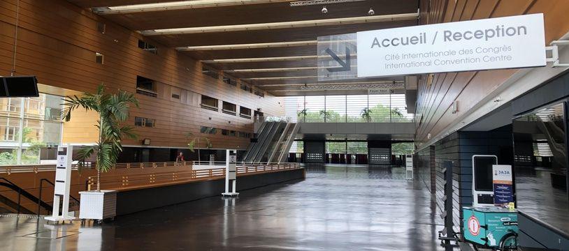 La Cité des congrès de Nantes.