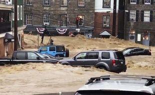 Inondations dévastatrices dans le Maryland.