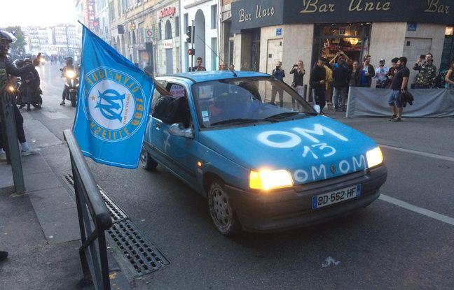 Marseille aux couleurs de l'OM