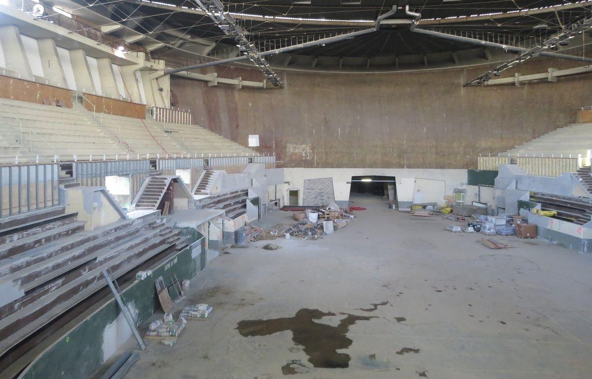 Visite du Palais des sports, le 10 mars 2015. – M. Nouaux / 20 Minutes