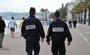 Illustration de la police française.