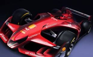 Un cliché du concept-car de Ferrari.