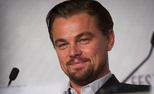 Leonardo DiCaprio, à Cannes, le 15 mai 2013.