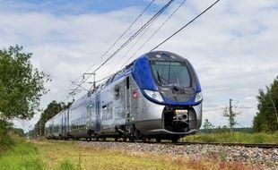 Une rame Regio 2N du constructeur Bombardier