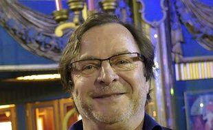 L'humoriste, acteur et scenariste Francois Rollin aux Folies Bergère en 2016.