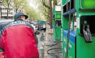 Au mois de mars, la consommation d'essence a baissé de 3,5%.