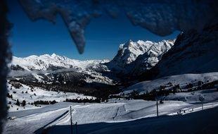 Les Alpes suisses - Illustration