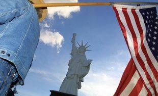 Présente à Gourin depuis 1986, la réplique actuelle de la statue de la Liberté, trop fragile, sera remplacée par une nouvelle statue en bronze.