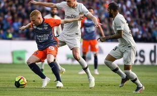 Le but contre son camp qui fait du bien aux Parisiens... 1-0 pour Montpellier à la 12e minute.