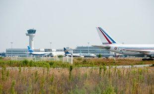 Merignac, 10 septembre 2012. - L'aeroport de Bordeaux Merignac. - Photo : Sebastien Ortola