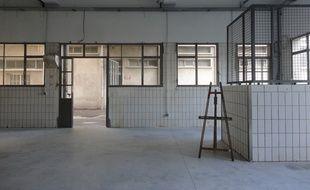 Les anciens abattoirs de Nice sont transformés en ateliers d'artistes.
