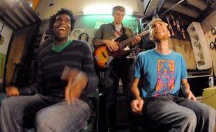 Drumpants, une innovation pour jouer de la musique en se tapant sur les cuisses