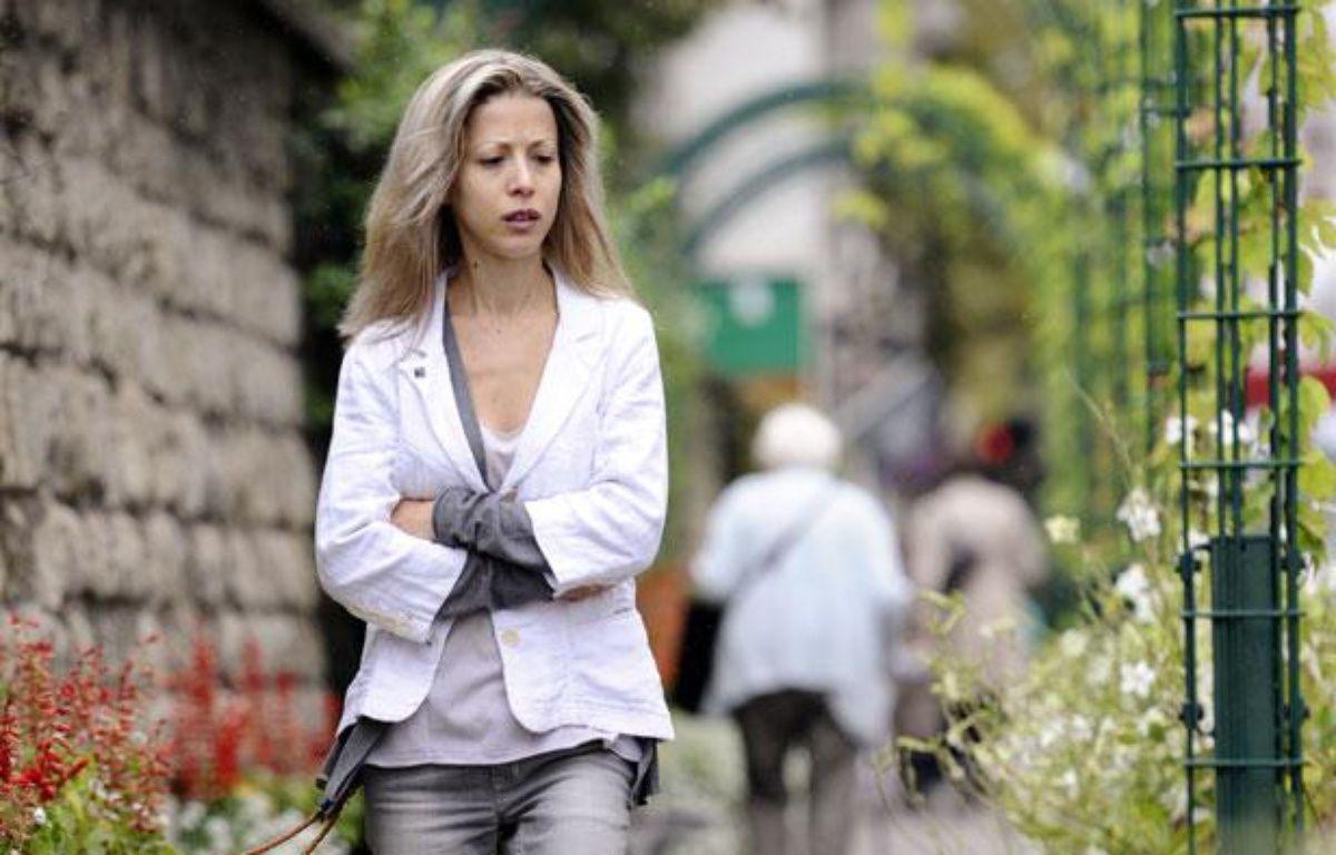 La journaliste et écrivaine Tristane Banon, le 8 septembre 2011 à Paris. – AFP PHOTO MIGUEL MEDINA