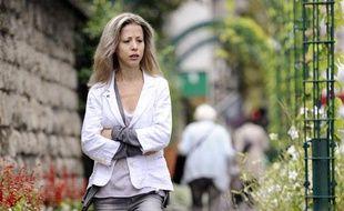 La journaliste et écrivaine Tristane Banon, le 8 septembre 2011 à Paris.