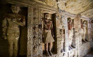 La tombe du prêtre nommé « Wahtye » date de la Ve dynastie