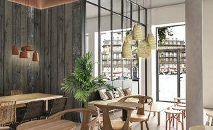 L'auberge de jeunesse Central Hostel donnera directement sur la place Saint-Projet, en plein coeur de Bordeaux.