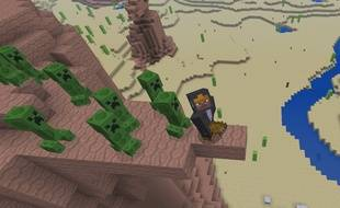 """Le jeu vidéo """"Minecraft"""""""