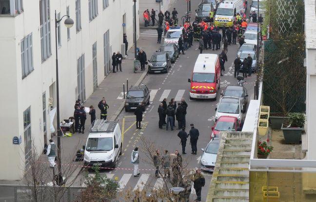 Le 7 janvier 2015, le satirique Charlie Hebdo subit une attaque terroriste. La vue de la rue Nicolas Appert. Au numéro 10 se trouve les locaux de Charlie Hebdo.