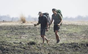 Laure Manaudou a parcouru 130 km en cinq jour au Botswana avec Mike Horn.