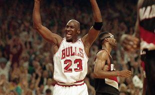 Michael Jordan. (Illustration)