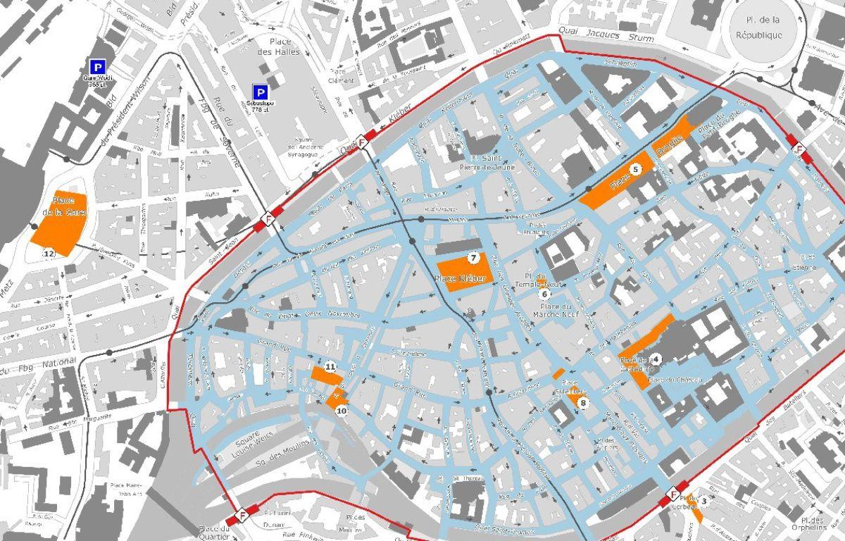 Strasbourg les restrictions qui placent le march de no l - Piscine municipale exterieure strasbourg ...