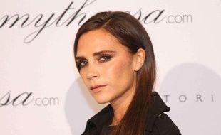 La créatrice de mode Victoria Beckham présente sa collection à Munich en novembre 2013.