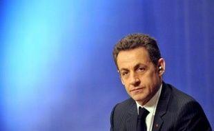 """Nicolas Sarkozy a souhaité mercredi que le président de France Télévisions soit à l'avenir """"nommé par l'exécutif après avis conforme du Conseil supérieur de l'audiovisuel, et sous réserve qu'une majorité qualifiée de parlementaires n'y fasse pas obstacle""""."""