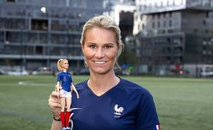 Amandine Henry a été désignée pour être la nouvelle égérie Barbie en 2020.