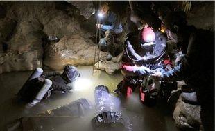 Le plongeur a disparu lors des opérations de recherche de l'aventurier belge Marc Sluszny, dans le gouffre d'Estramar.(illustration)