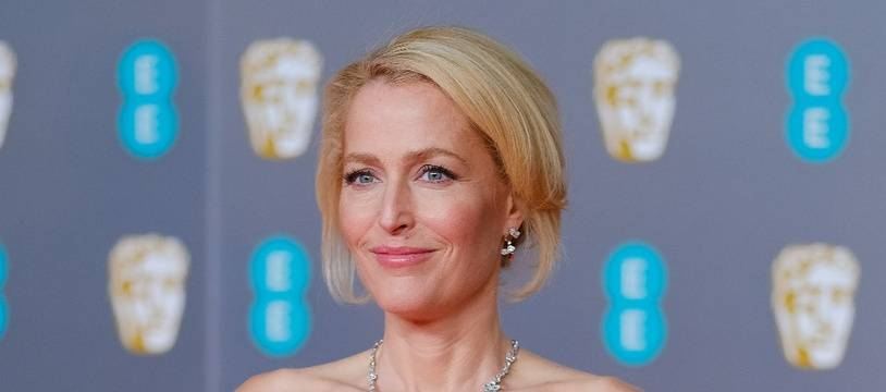 L'actrice Gillian Anderson