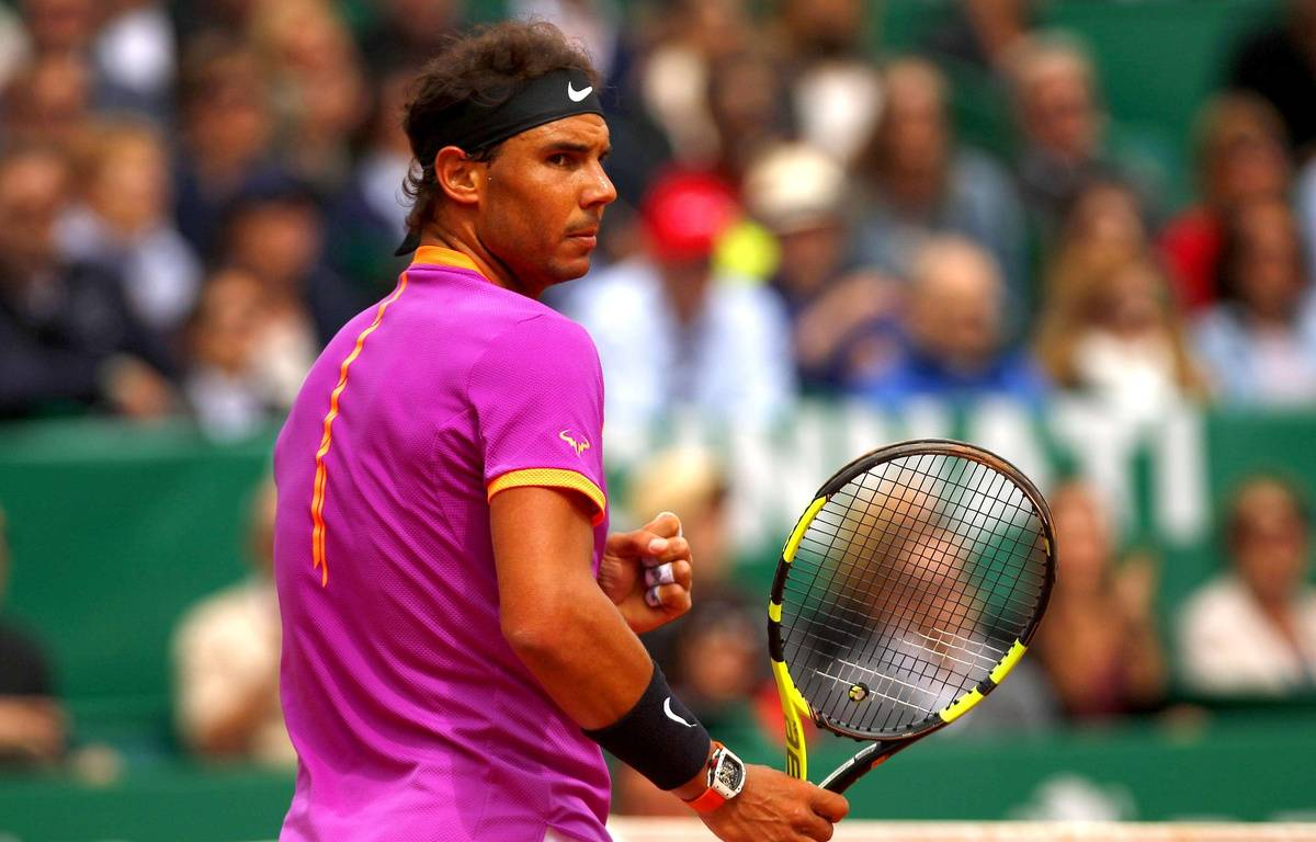 Rafael Nadal à Monte-Carlo, le 23 avril 2017.  – Ella Ling/BPI/Shutterst/SIPA