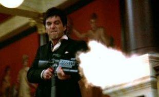 Scarface, filme culte de Brian de Palma, avec Al Pacino