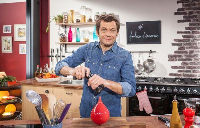Originaire des Vosges, l'animateur télé et chroniqueur culinaire Laurent Mariotte a pris part à la campagne de l'EFS dans le Grand Est pour le don du sang.