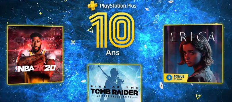 PlayStation Plus: les jeux gratuits du mois de juillet