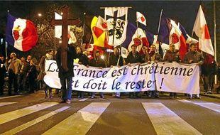 La manifestation s'est déroulée sans incident. Les pouvoirs publics avaient déployé les grands moyens.