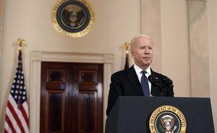 Joe Biden emboîte le pas de son prédécesseur Donald Trump.