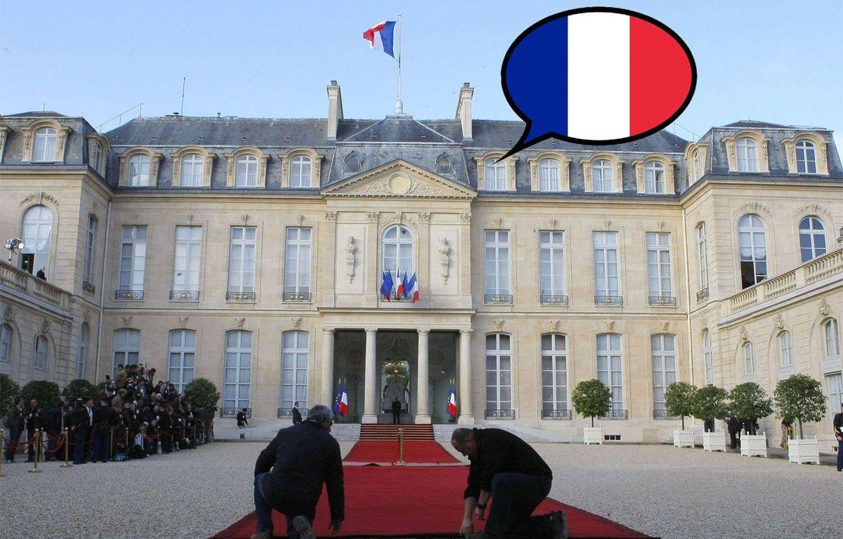 Le palais de l'Elysée. Montage 20 Minutes. – Jacques Brinon/AP/SIPA