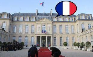 Le palais de l'Elysée. Montage 20 Minutes.
