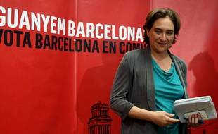 Ada Colau le 25 mai 2015 à Barcelone.
