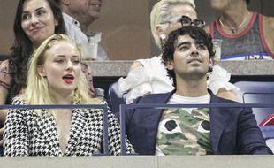 L'actrice Sophie Turner et son mari, le chanteur Joe Jonas