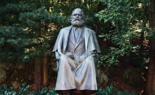 Une statue de Karl Marx en République Tchèque.