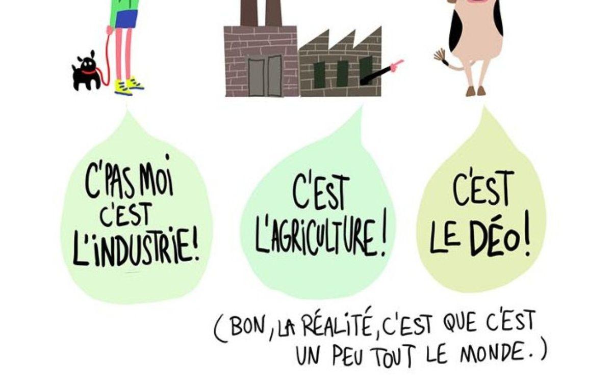 Extrait de la BD de Pénélope Bagieu sur le réchauffement climatique. – Capture d'écran