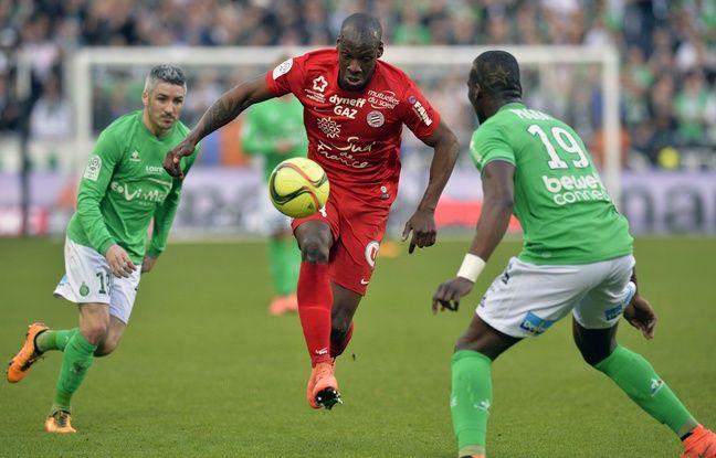 Bryan Dabo a été titularisé pour la dernière fois avec le MHSC, le 19 mars à Saint-Etienne (3-0). JEAN-PHILIPPE KSIAZEK