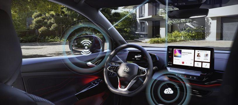 VW lance les mises à jour en réseau.