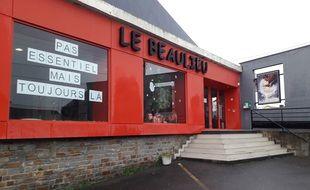 Le cinéma associatif le Beauliau, à Bouguenais, près de Nantes