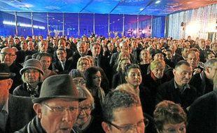 Environ 2000 Montpelliérains ont répondu présent aux vœux du maire.