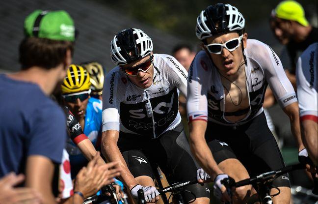 Tour de France: On est pas obligé de le croire, mais selon Geraint Thomas, c'est Froome le leader de la Sky