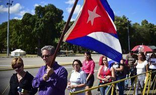 Les Cubains rendent hommage au Lider Maximo
