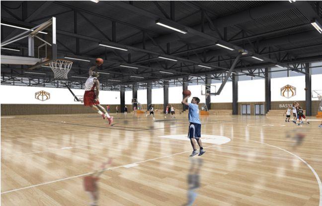 Voilà à quoi pourrait ressembler l'intérieur de ce « Basket Center ».